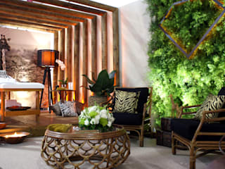 Eclectic style spa by Daniela Zuffo Arquitetura e Interiores Eclectic