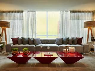 Decora Lider Vitória - Living do Fotógrafo Salas de estar modernas por Lider Interiores Moderno