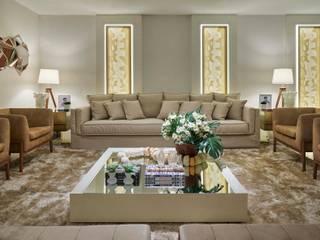 Decora Lider Vitória - Living e Cozinha Salas de estar modernas por Lider Interiores Moderno