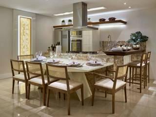 Decora Lider Vitória - Living e Cozinha Salas de jantar modernas por Lider Interiores Moderno