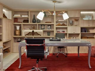 Decora Lider Vitória - Home Office do Casal Escritórios modernos por Lider Interiores Moderno