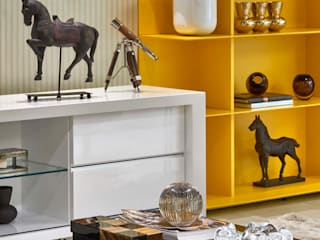 Decora Lider Vitória - Home Theather Salas de estar modernas por Lider Interiores Moderno