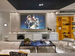 Decora Lider Vitória - Home Theather Salas multimídia modernas por Lider Interiores Moderno