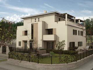 3D Modeling and Rendering for Studio Olivieri, Modena (Italy) | Modellazione 3D e Rendering per studio di Architettura Olivieri Case moderne di Fabio Sillato Architect & Graphic Designer Moderno
