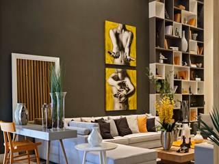 Decora Lider Vitória - Sala Multiuso Salas de estar modernas por Lider Interiores Moderno