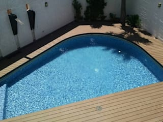 Grupo Boes Pool Wood Wood effect