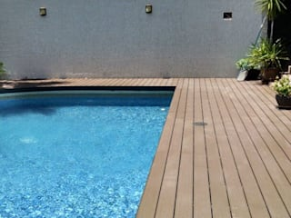 Modern pool by Grupo Boes Modern