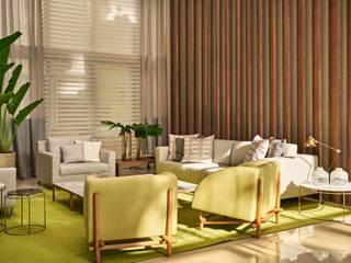 Decora Lider Vitória - Espaço Identidade Salas de estar modernas por Lider Interiores Moderno