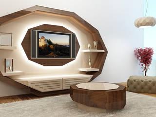 relax mobiliário e decoração Salas/RecibidoresEstanterías Derivados de madera