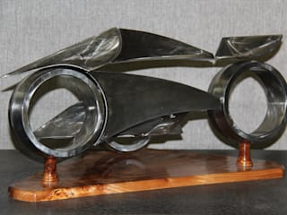 side-car par Alain Deschatres Moderne
