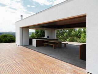 CASA CAB Casas modernas por DAVID ITO ARQUITETURA Moderno