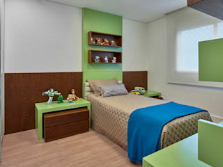 Isabela Canaan Arquitetos e Associados Nursery/kid's room