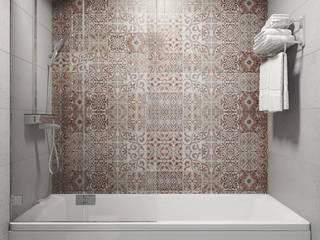 Дизайн студия Алёны Чекалиной의  욕실