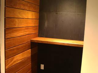 Tường & sàn phong cách tối giản bởi ZTUDIO-ARQUITECTURA Tối giản