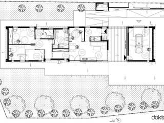 DOM DLA OSOBY NIEPEŁNOSPRAWNEJ - rzut: styl , w kategorii  zaprojektowany przez DOKTOR ARCHITEKCI