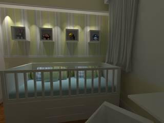 de Elaine Medeiros Borges design de interiores Moderno
