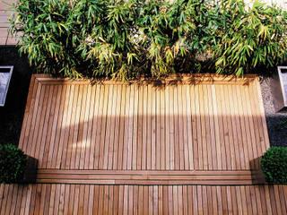 BEGRÜNDER Modern Balkon, Veranda & Teras