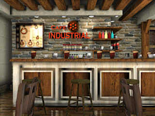 Industrial style walls & floors by FOX IDEA Industrial