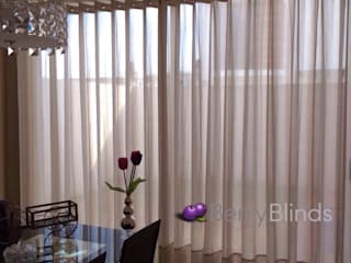 BERRY BLINDS INTERIORISMO Dining roomAccessories & decoration Flax/Linen Beige