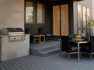 Hiên, sân thượng phong cách hiện đại bởi D'Tzalam - Diseño en Pisos Hiện đại