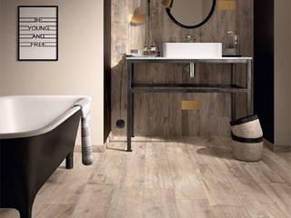 Phòng tắm phong cách hiện đại bởi D'Tzalam - Diseño en Pisos Hiện đại