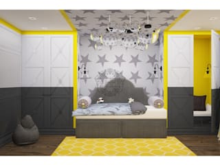 Industrial style nursery/kids room by Home Emotions Industrial