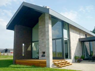 Bedrijfswoning in Oss:  Huizen door De Witte - Van der Heijden Architecten