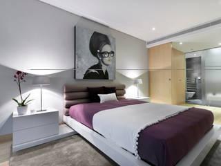 غرفة نوم تنفيذ Sónia Cruz - Arquitectura