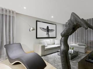 Spazio Park: Salas de estar modernas por Sónia Cruz - Arquitectura