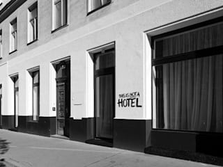 This  Is Not a Hotel - Apartmenthotel:  Häuser von LOSTINARCHITECTURE