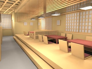SATSUKI: 株式会社武村耕輔設計事務所が手掛けた廊下 & 玄関です。