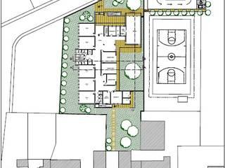 PLANIMETRIA GENERALE: Sala multimediale in stile  di STUDIO TECNICO ARCH. VITTORIO VALPONDI