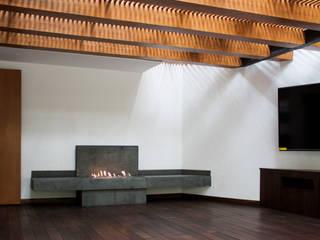 Terraza K.Taño Balcones y terrazas minimalistas de C+C | STUDIO Minimalista