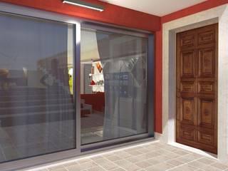 Trasformazione interrato - Basement conversion Finestre & Porte in stile classico di Planet G Classico