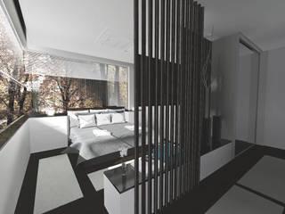 Un dormitorio coloreado por la naturaleza:  de estilo  de [ interitect ]