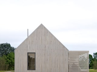 INT2architecture Prefabricated Home Wood Beige
