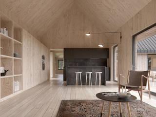 INT2architecture Kitchen Plywood Black