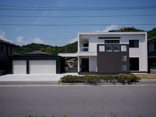 株式会社深田建築デザイン研究所 現代房屋設計點子、靈感 & 圖片