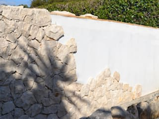 Piedras Decorativas RenoBuild Algarve Casas de estilo rústico