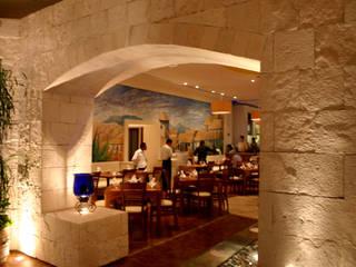 OK Maguey II Gastronomía de estilo rústico de Boué Arquitectos Rústico