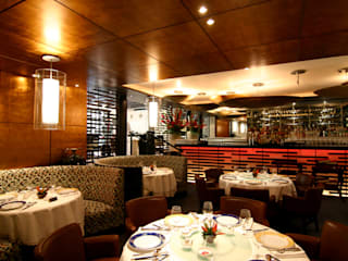 Zhen Shangai Gastronomía de estilo moderno de Boué Arquitectos Moderno