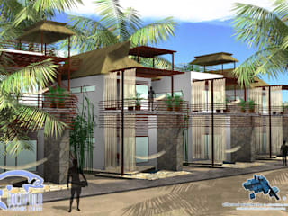 tropical  by villarreal arquitectos y urbanistas asociados sc, Tropical