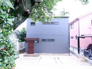 風呂敷住宅 <展開する家>: 士が手掛けた家です。,