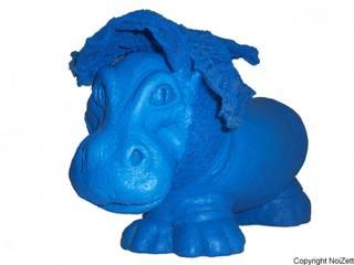 Miss Jojo All in Blue:  de style  par Noizette sculpteur