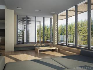 Minimalistische Wohnzimmer von Bezmenova Minimalistisch