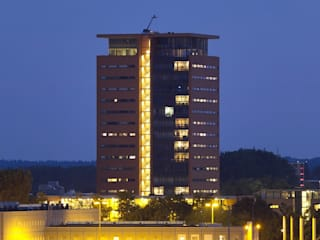 Toren van Gelre Arnhem Moderne huizen van Van de Looi en Jacobs Architecten Modern