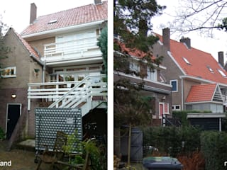 Transformatie woonhuis Arnhem Moderne huizen van Van de Looi en Jacobs Architecten Modern