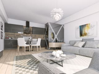 Oksijenn Modern living room