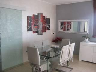 Nichelino - progetto di interni Sala da pranzo moderna di Studio Paolo Padovan architetto Moderno