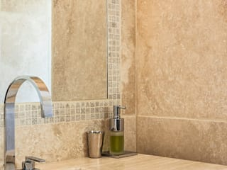 Rustic style bathroom by PASSAGE CITRON Rustic